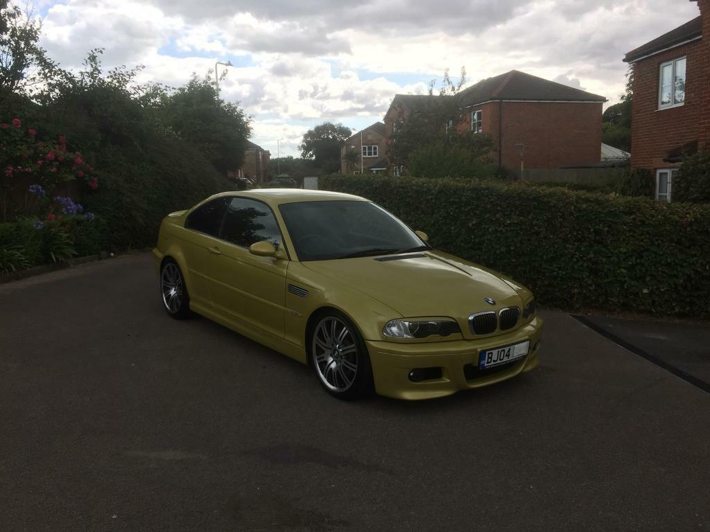 Bmw E46 M3 Phoenix Yellow 2004 Coupe Immaculate In