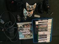 Xbox 360 bundle (26 games & 2 pads)