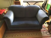 Vintage blue chaise longue in good condition