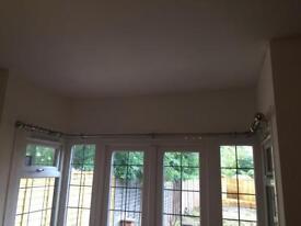 Bay Window Curtain Pole 3 sided bay