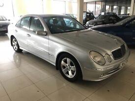 Mercedes e 220 diesel 12 months mot automatic sat nav leather superb condition advantgarde model