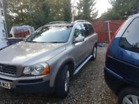 2005 Volvo XC90 executive 2.9 petrol automatic 7 seater spacious