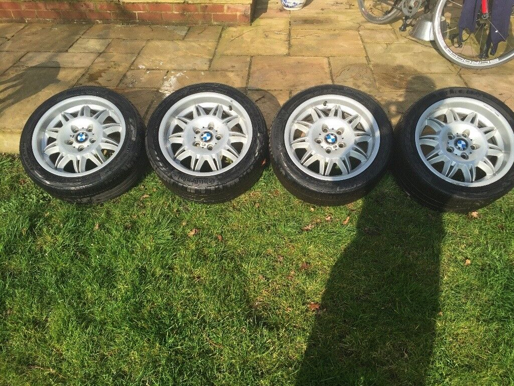 Genuine e36 M3 Sunflower Staggered 17 inch Alloy Wheels