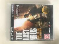 PS3 the last of us game