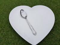 Hand stamped vintage spoon