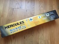 Hercules BS100B EZ Glide Music Stand - Excellent Condition