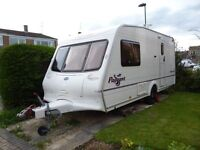 Bailey Pageant Monarch 2- Berth 2004. End washroom. Full awning. Motor mover. Owned by us 11 years.