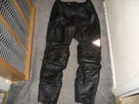 motor bike Gerike leather trousers