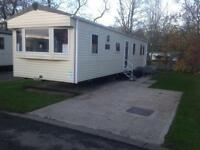 LAST MINUTE WEEKEND CARAVAN AT HAGGERSTON CASTLE