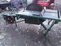 Mc Connell Saw Bench, Fire Wood, Farm, Forestry saw