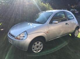 2006/56 Ford Ka Style Climate 3 door silver. Heated Front screen, AC