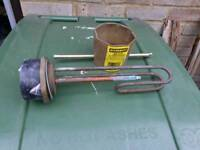 Immersion heater and spanner