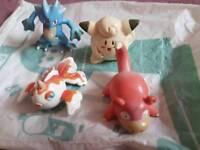 Rare pokemon original figure bundle