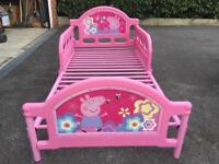 Peppa pig bed (first child bed)