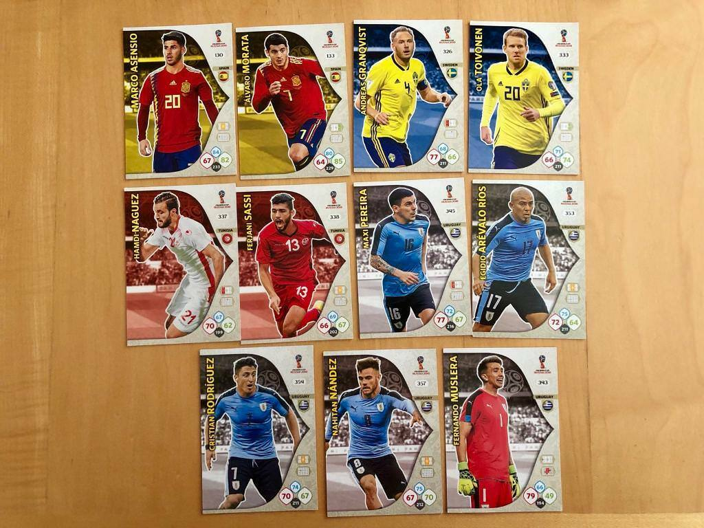 0dad60cdb8f Adrenalyn XL FIFA World Cup Russia 2018 Trading Cards Countries S-U