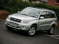 Rav4 XT VVTI - 5door, full black leather interior