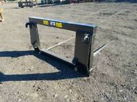Brand new tractor front loader bale spike with euro 8 brackets