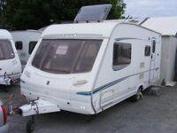 REDUCED - 2004 Abbey GTS416 Vogue, 4 berth caravan, end washroom