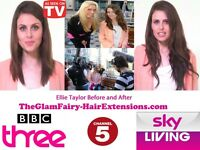 Celebrity hair extensionist as seen on TV from £150.00 full head.