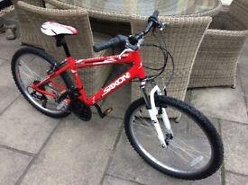 Boys Mountain Bike aged 8 - 12 years
