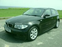 BMW 120d,5DR,54 PLATE,RE-MAPPED 190BHP,117K AND FDSH,APRIL MOT,100% RELIABLE,RUNS AND DRIVES PERFECT