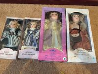 Brand New Unopened Porcelain Dolls
