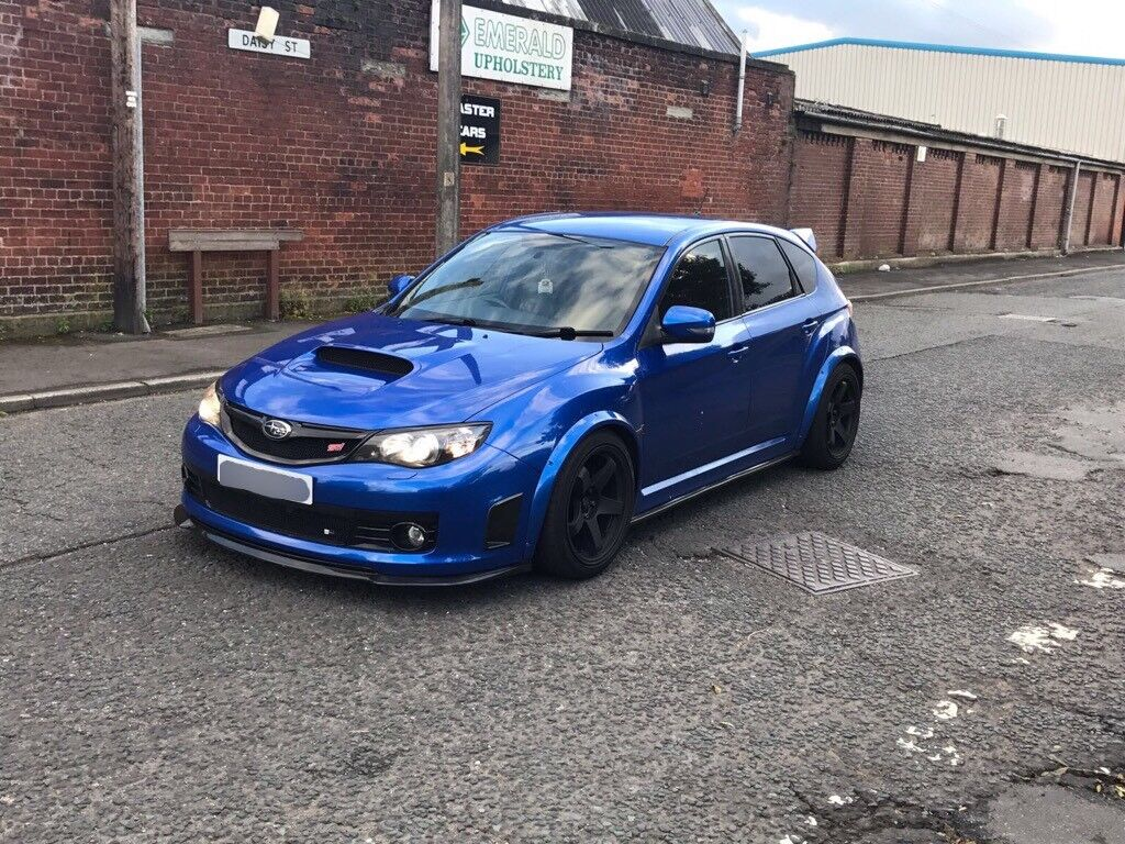 wide arch subaru impreza wrx sti hatchback in blackburn lancashire gumtree. Black Bedroom Furniture Sets. Home Design Ideas