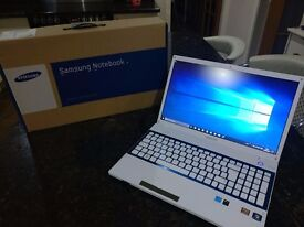 Samsung 305V5A Laptop 8GB DDR3 RAM 256GB SSD HDD AMD A8-3530MX Quad Core Windows 10 Home
