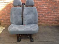 Double seat for Ford Transit