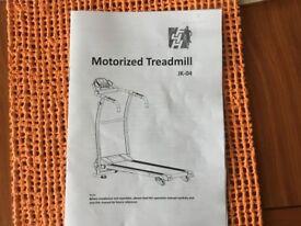 Motorised treadmill JK-04
