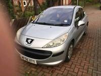 PEUGEOT 207 56 PLATE LOW MILEAGE