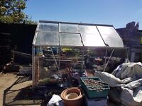 8ftx6ft greenhouse cost over £400