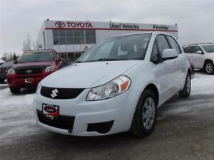 2012 Suzuki SX4 Local MB Vehicle / Winter Tires Included