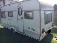 Swift challenger 5 berth 490se caravan. Use as a campervan conversion?