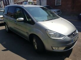 Ford Galaxy 1.8 TDCi Zetec 7 SEAT 5dr silver,12mth MOT,EXCELLENT CONDITION THROUGHOUT