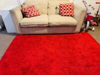 3 seater sofa with cushions FREE TO COLLECT