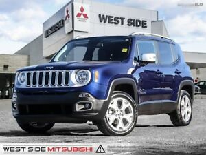 2017 Jeep Renegade Limited-Accident Free-Navigation-SiriusXM