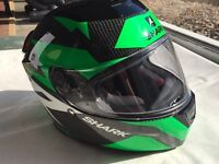 ***SHARK SPEED-R CARBON SIZE M MOTORCYCLE HELMET - AS NEW***