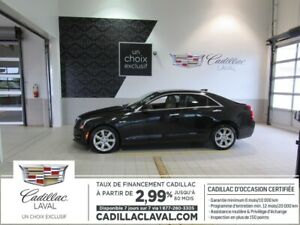 2015 Cadillac ATS SEDAN AWD 2.99 % LUXURY TOIT NAVI