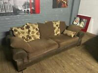 HARVEYS FABRIC SOFA 3 SEATER IN EXCELLENT CONDITION