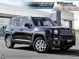 2015 Jeep Renegade 9 SPD**RMT START**HT SEATS**4X4**BCK UP CAM