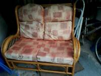 Two seater conservatory furniture