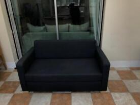 Navy 2 Seater Sofa Bed