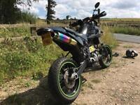 Mz Baghira black panther supermoto same engine as Yamaha Xt660 engine