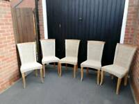 5 chairs for a cash sale