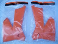 KTM exc Radiator Wings,genuine part and fits all models 2 and 4stroke,2004-2007.