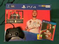 SLIM PLAYSTATION 4 CONSOLE 500GB WITH FIFA 20