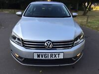 2011 61 plate Volkswagen Passat 1.6 TDI BlueMotion Tech S 4dr (start/stop) With PCO Licence