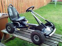 Boys or Girls Kettler 4 Wheel Pedal Go Kart Buggy