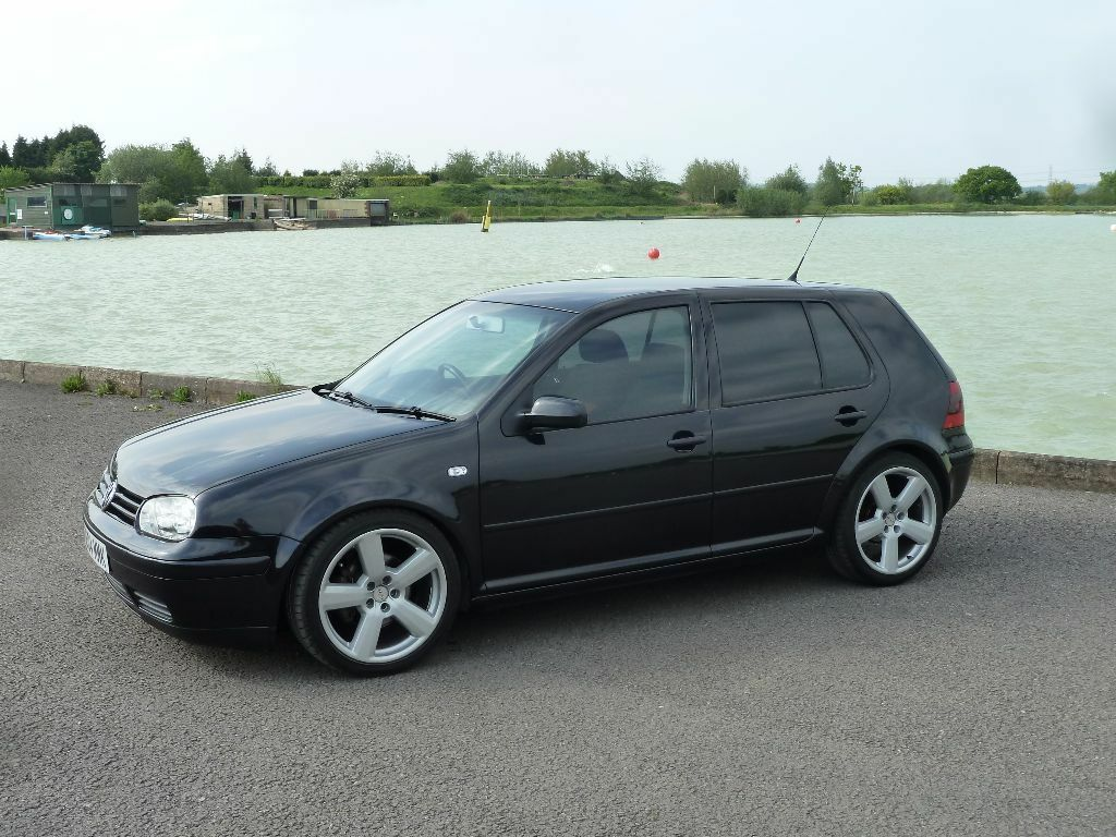vw golf mk4 1 9 gt tdi diesel 2004 pd130 only 77k miles. Black Bedroom Furniture Sets. Home Design Ideas
